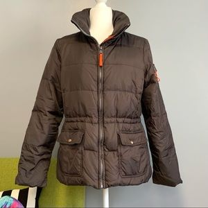 Marc New York Brown Down Puffer Coat